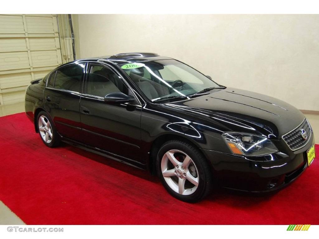 Black Nissan Altima >> 2005 Super Black Nissan Altima 3 5 Se 66437842 Gtcarlot Com Car