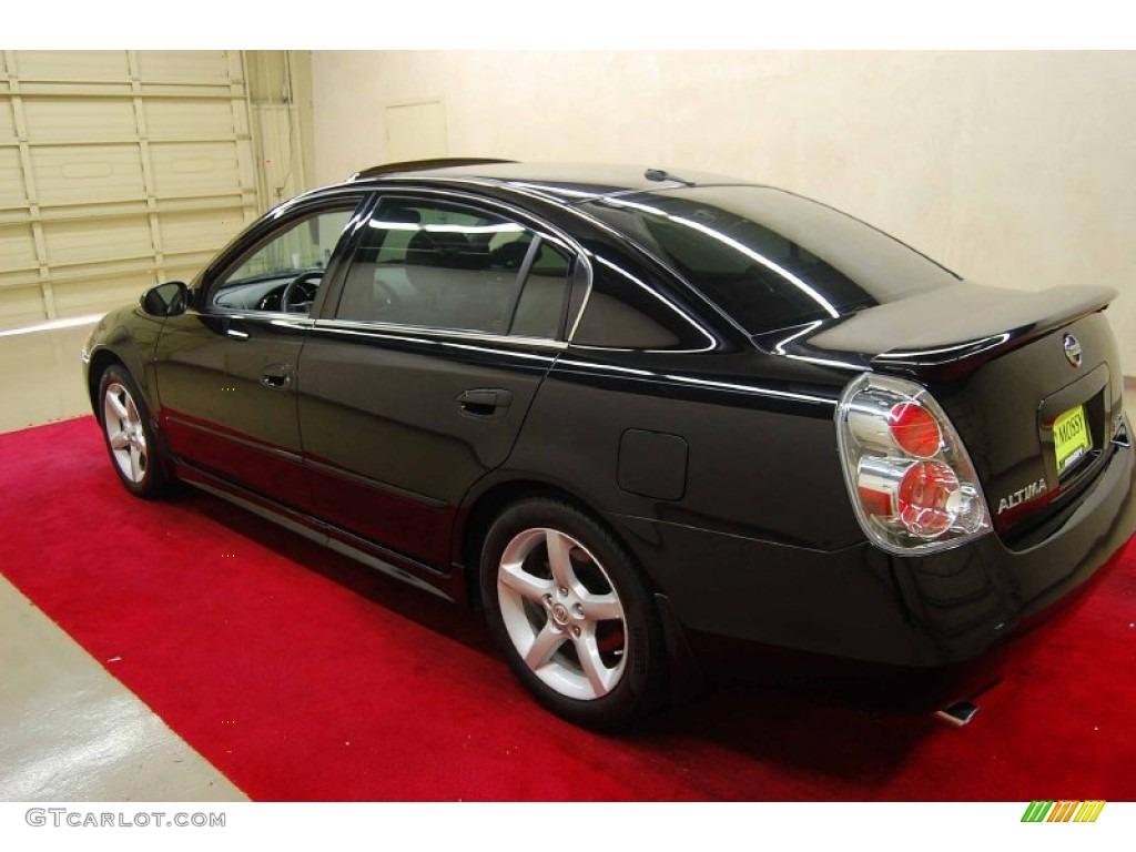 2005 Super Black Nissan Altima 3 5 Se 66437842 Photo 4