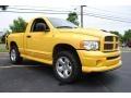 Solar Yellow 2005 Dodge Ram 1500 Gallery