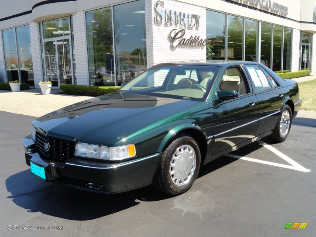 1994 Polo Green Metallic Cadillac Seville Sts 66487590