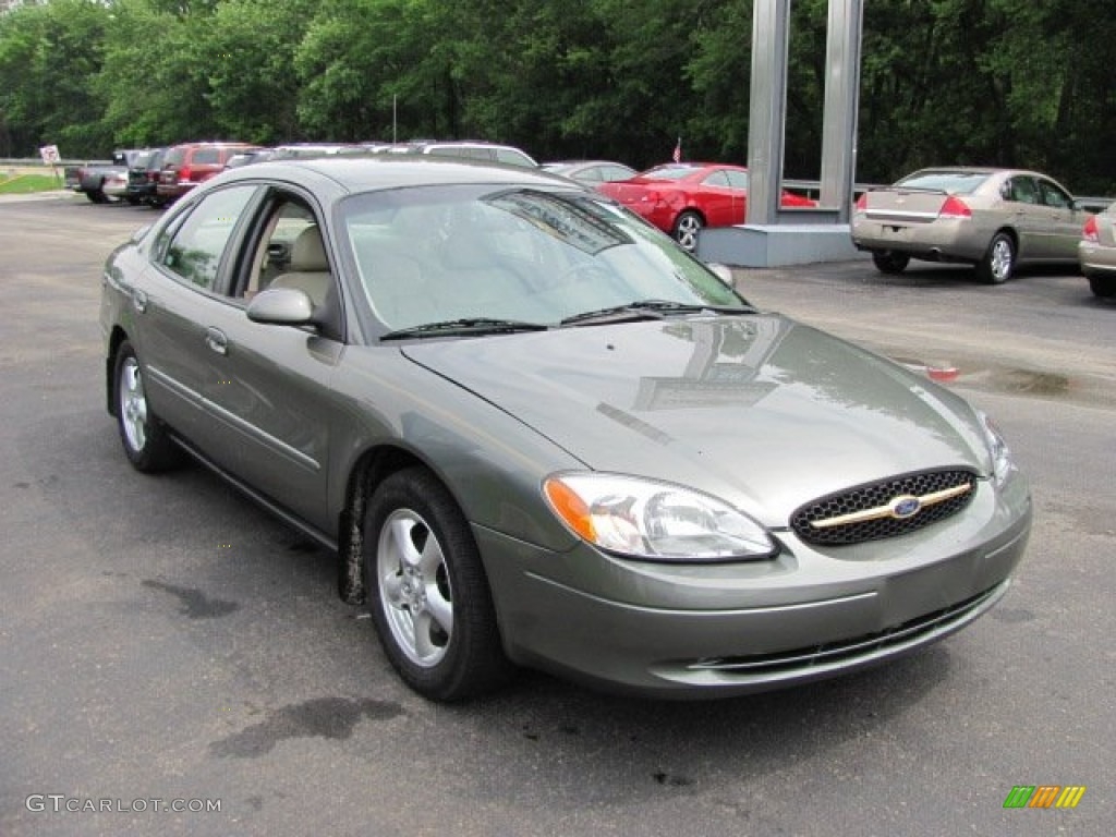 Spruce green metallic 2002 ford taurus ses exterior photo 66501000