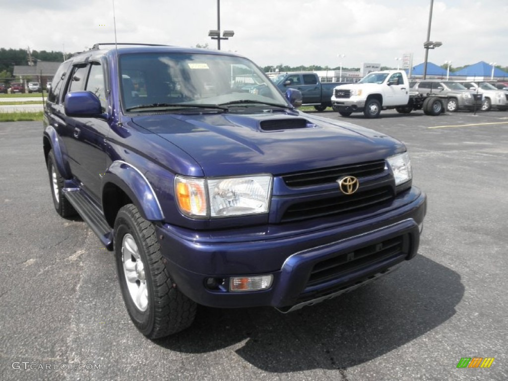 2002 stellar blue pearl toyota 4runner sport edition 4x4 66488284 photo 2 car. Black Bedroom Furniture Sets. Home Design Ideas