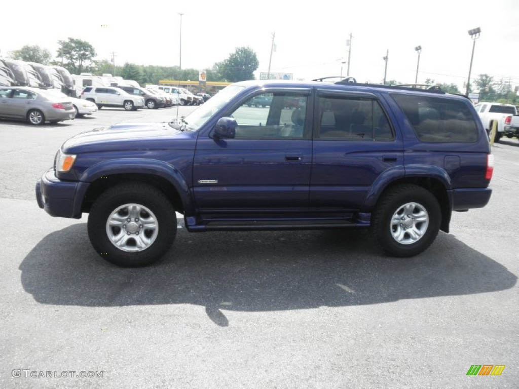 2002 stellar blue pearl toyota 4runner sport edition 4x4 66488284 photo 4 car. Black Bedroom Furniture Sets. Home Design Ideas