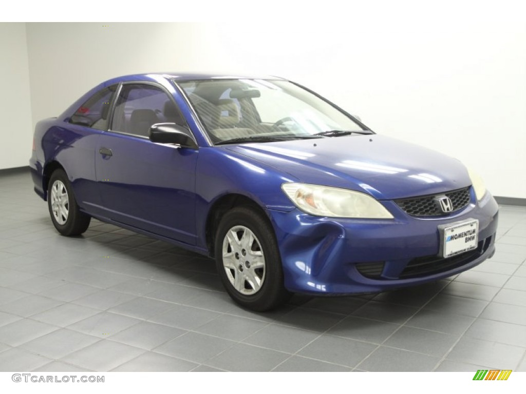 2004 fiji blue pearl honda civic value package coupe
