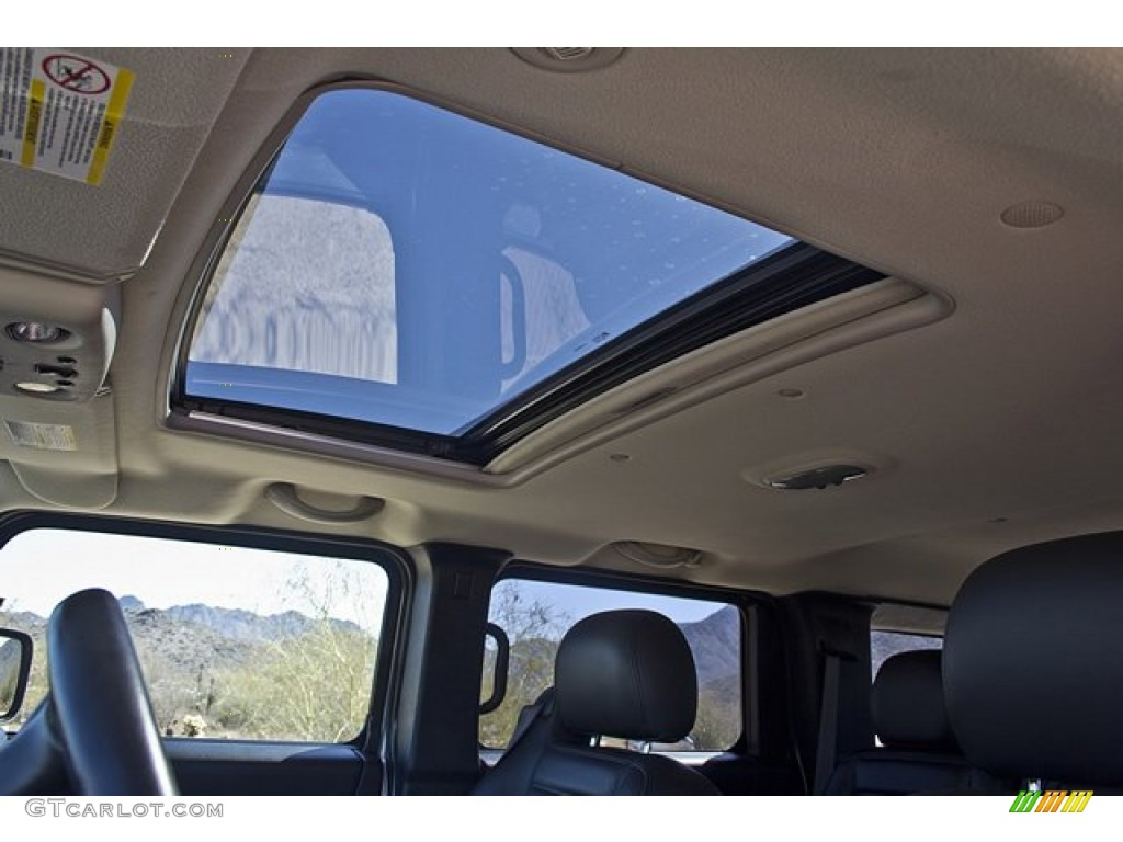 2006 Hummer H2 SUV Sunroof Photos