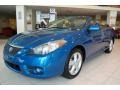 Blue Streak Metallic - Solara SLE V6 Convertible Photo No. 1