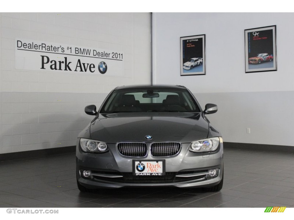2012 space grey metallic bmw 3 series 328i xdrive coupe 66487530 car color. Black Bedroom Furniture Sets. Home Design Ideas