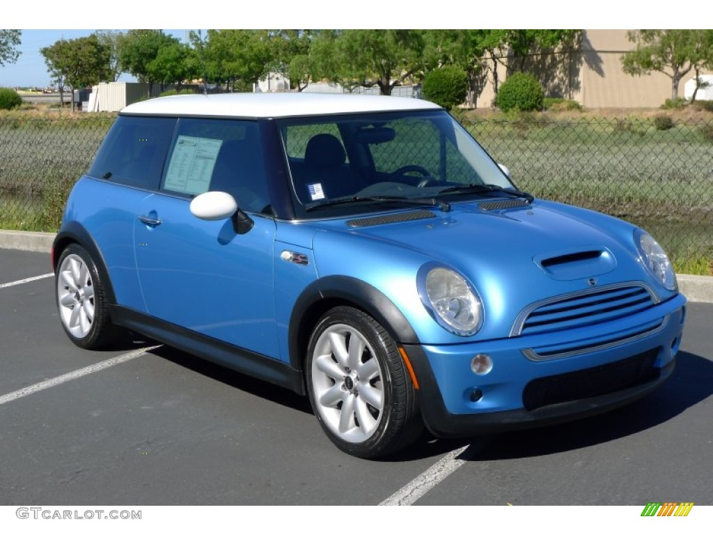electric blue metallic 2003 mini cooper s hardtop exterior photo 66516873. Black Bedroom Furniture Sets. Home Design Ideas