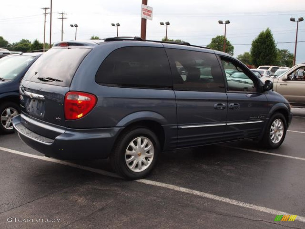 Steel Blue Pearl 2001 Chrysler Town & Country LXi Exterior Photo ...