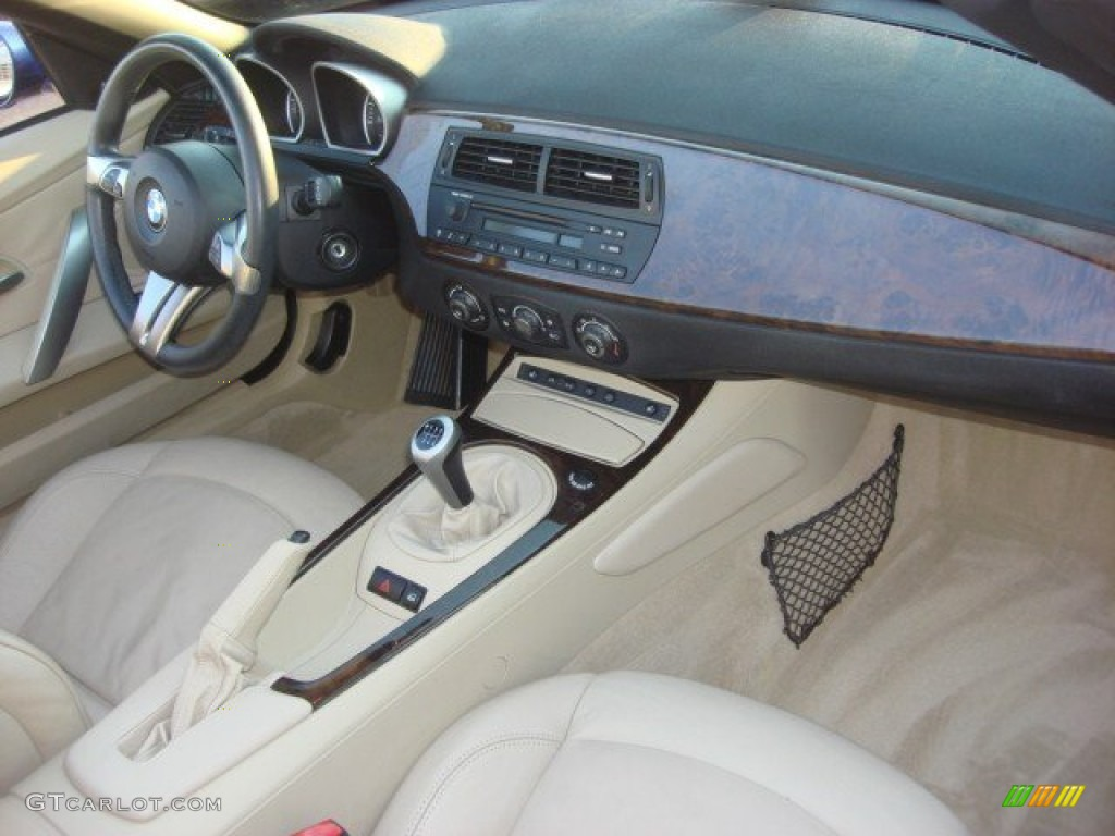 Beige Interior 2007 Bmw Z4 3 0i Roadster Photo 66519336
