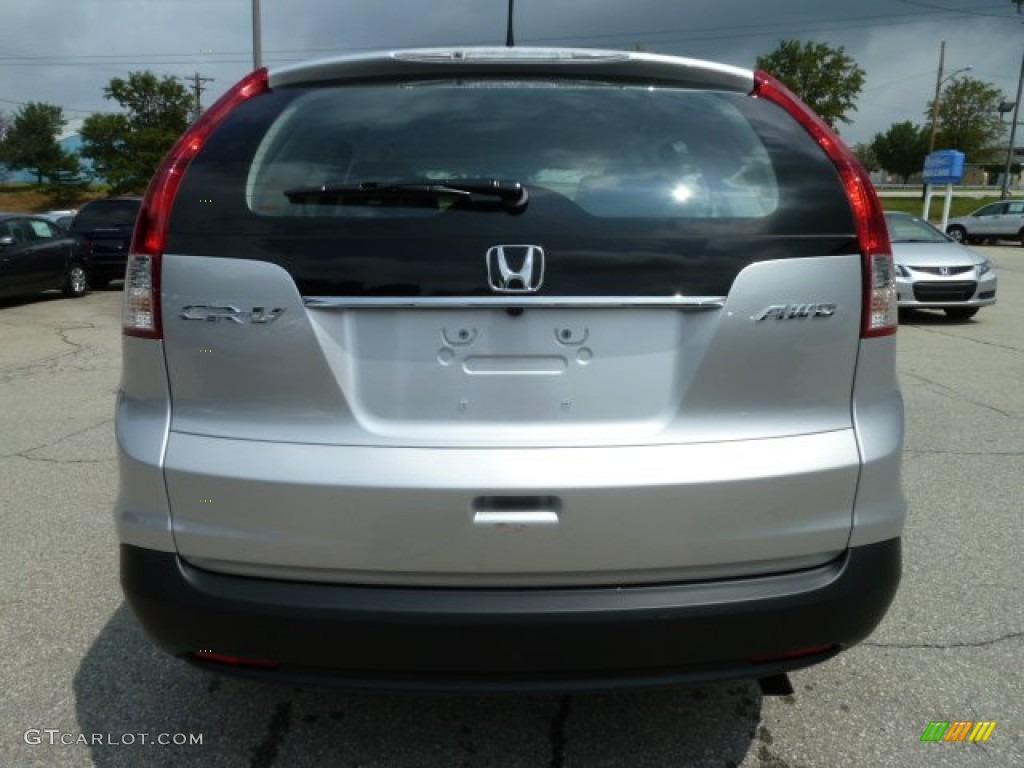 2012 CR-V LX 4WD - Alabaster Silver Metallic / Gray photo #3