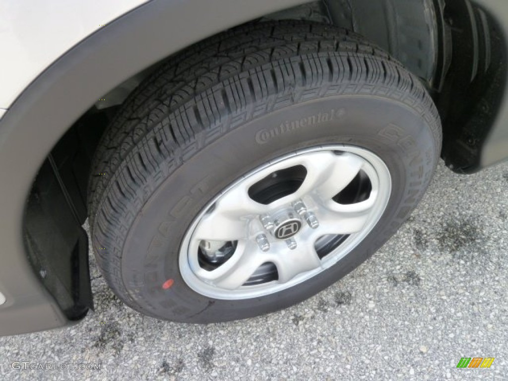 2012 CR-V LX 4WD - Alabaster Silver Metallic / Gray photo #9