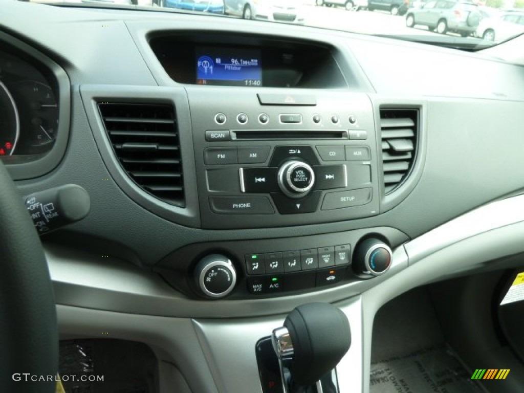 2012 CR-V LX 4WD - Alabaster Silver Metallic / Gray photo #18