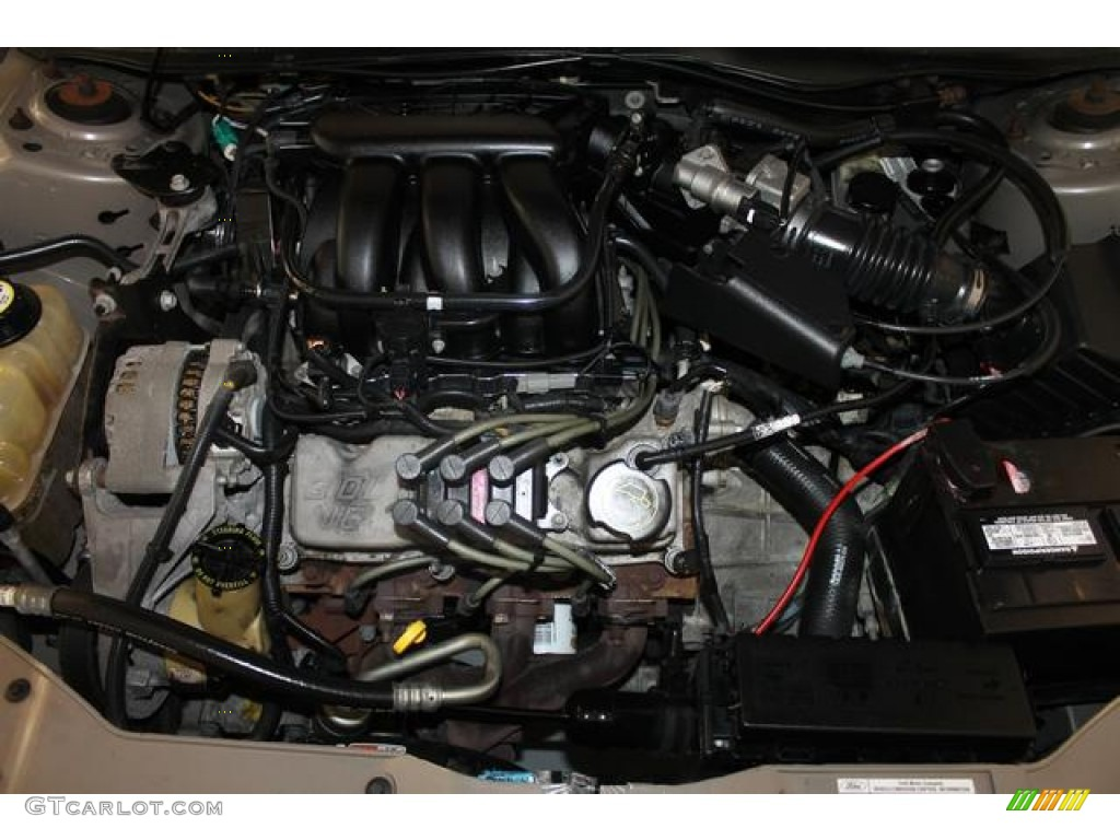 2007 Ford Taurus Sel Engine Photos