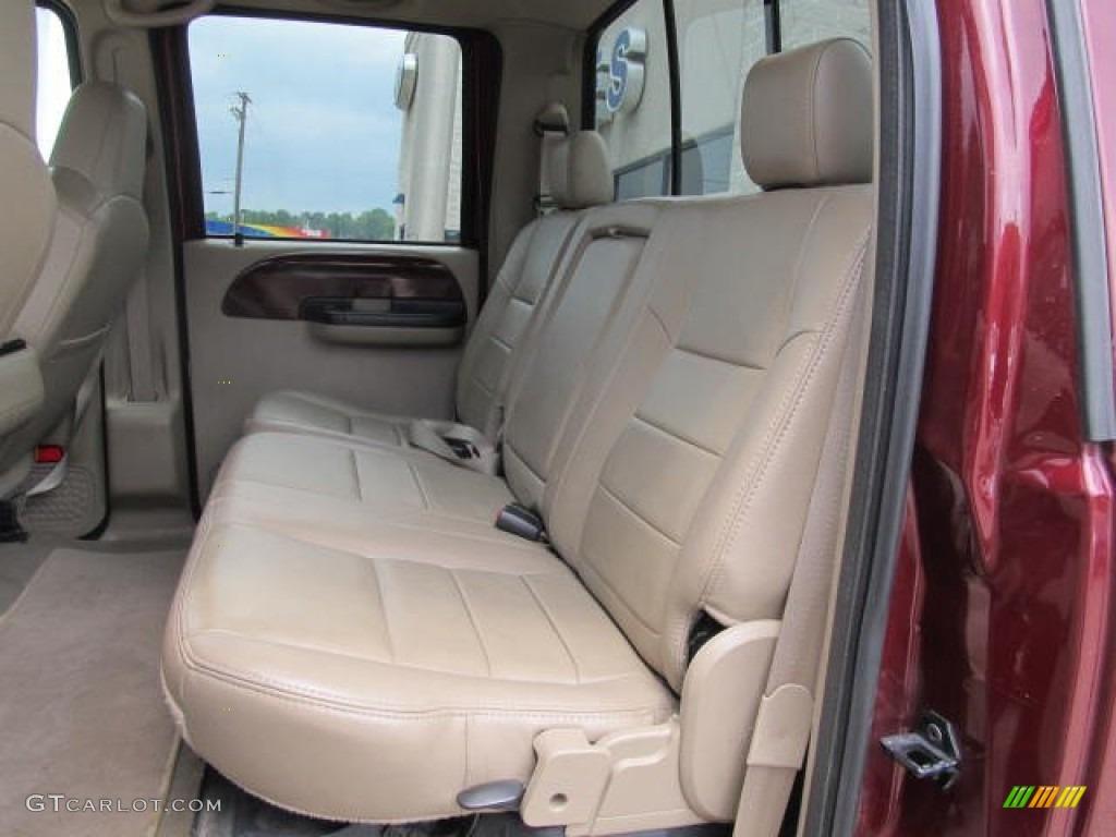 ford  super duty lariat fx crew cab  rear seat  gtcarlotcom