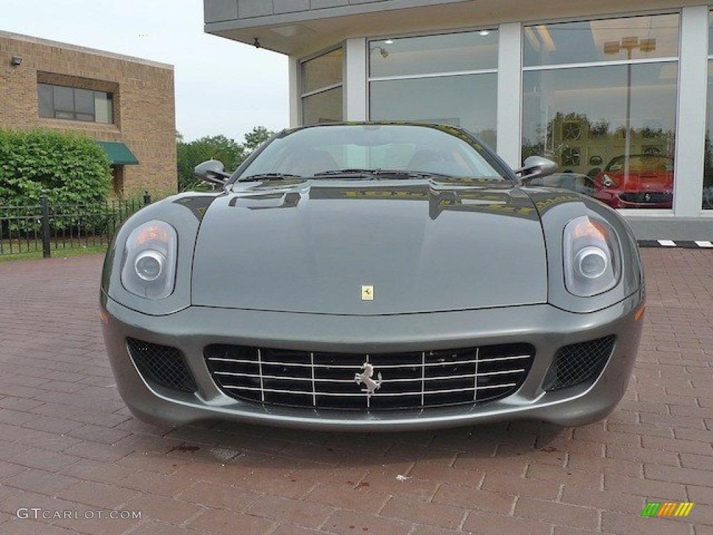 grigio silverstone dark grey metallic 2007 ferrari 599 gtb fiorano standard 599 gtb fiorano