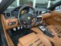2007 Ferrari 599 GTB Fiorano Cuoio Interior Prime Interior Photo