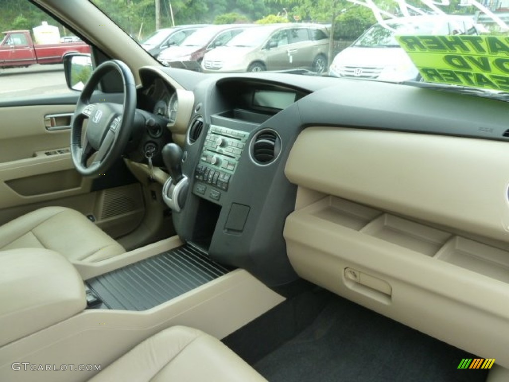 2009 Honda Pilot Ex L 4wd Beige Dashboard Photo 66538722