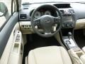 2012 Subaru Impreza Ivory Interior Dashboard Photo
