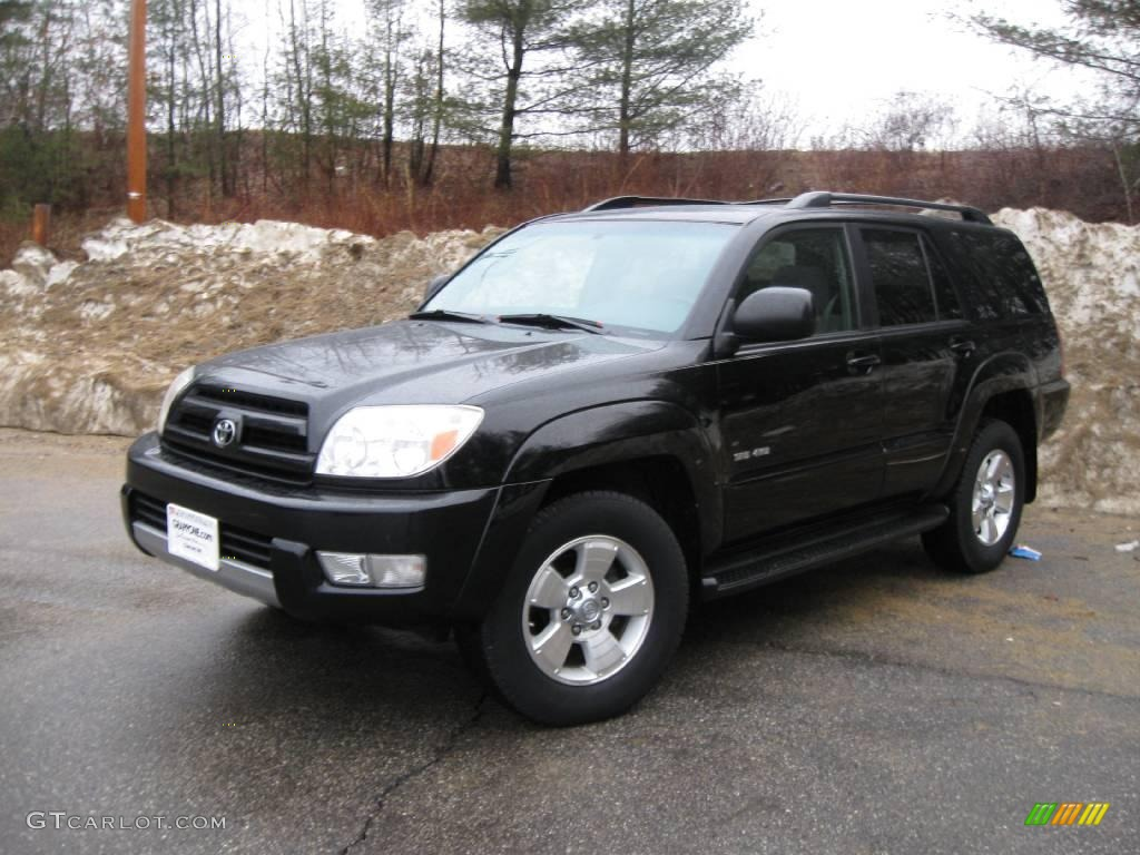 2004 black toyota 4runner sr5 4x4 6647076 photo 7 car color galleries. Black Bedroom Furniture Sets. Home Design Ideas