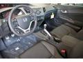 Black 2012 Honda Civic Interiors