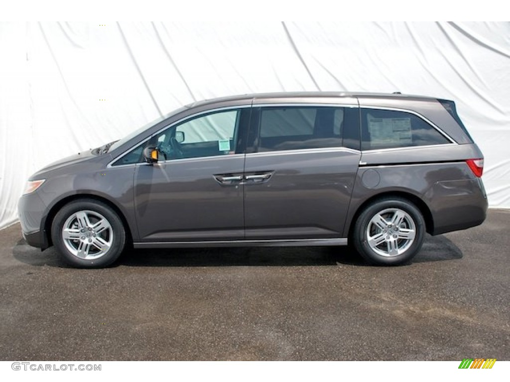 Smoky Topaz Metallic 2012 Honda Odyssey Touring Exterior Photo 66547314 Gtcarlot Com