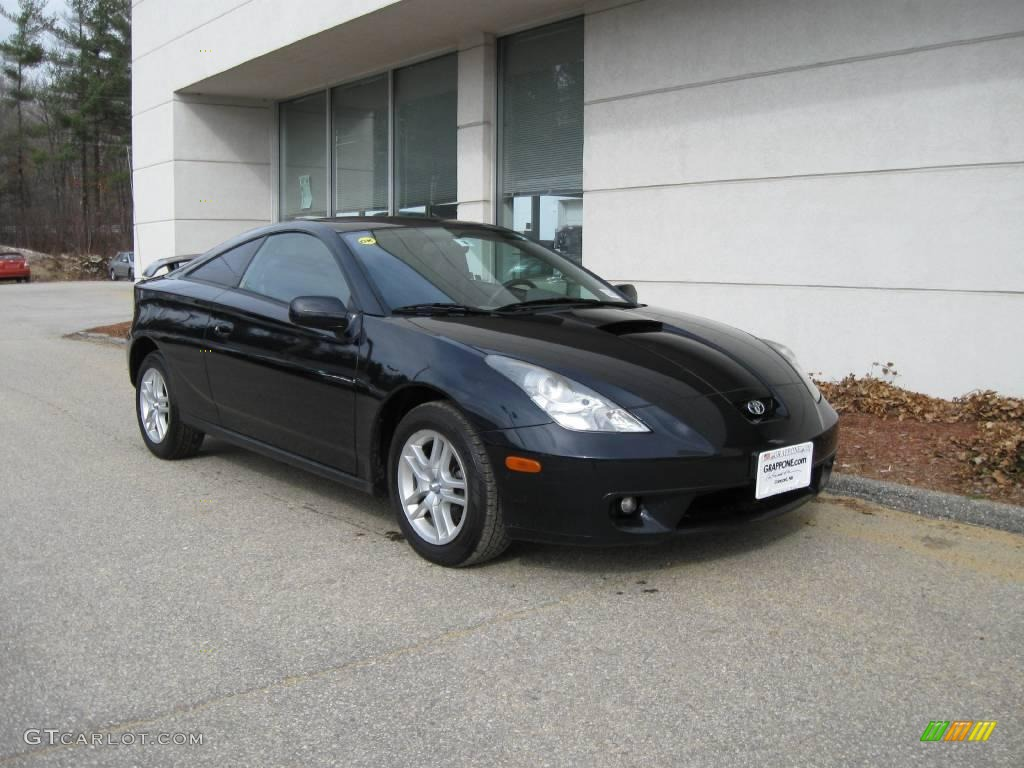 2000 black toyota celica gt 6646989 car. Black Bedroom Furniture Sets. Home Design Ideas