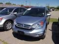 2010 Glacier Blue Metallic Honda CR-V EX-L  photo #2