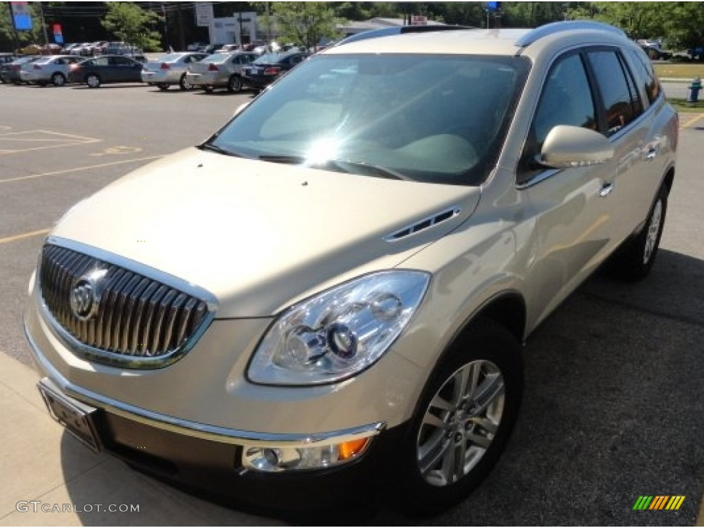2009 Enclave CX AWD - Gold Mist Metallic / Cocoa/Cashmere photo #1