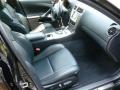 Black Interior Photo for 2008 Lexus IS #66564794