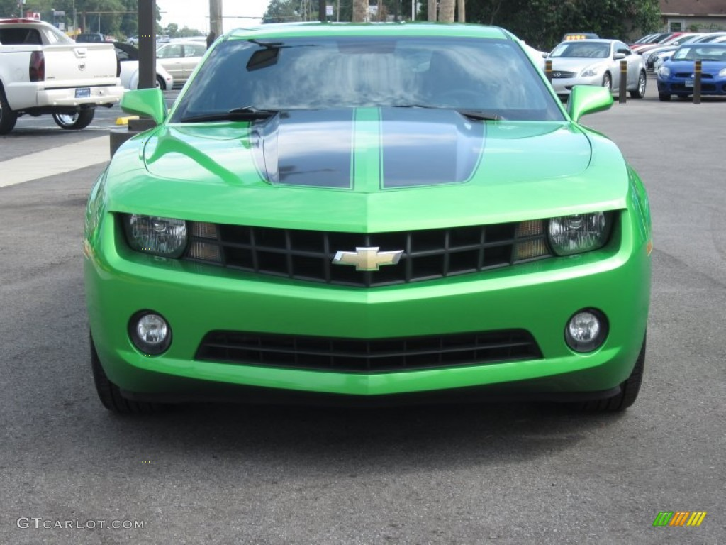 Synergy Green Metallic 2010 Chevrolet Camaro Lt Coupe Synergy Special Edition Exterior Photo
