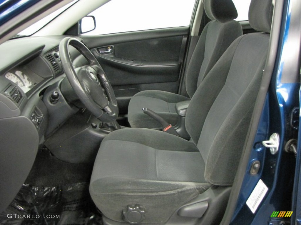 2003 Toyota Corolla S Interior Color Photos