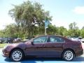 2011 Bordeaux Reserve Metallic Ford Fusion SEL  photo #2