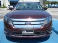2011 Bordeaux Reserve Metallic Ford Fusion SEL  photo #8