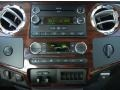 2010 Ford F250 Super Duty Ebony Interior Controls Photo