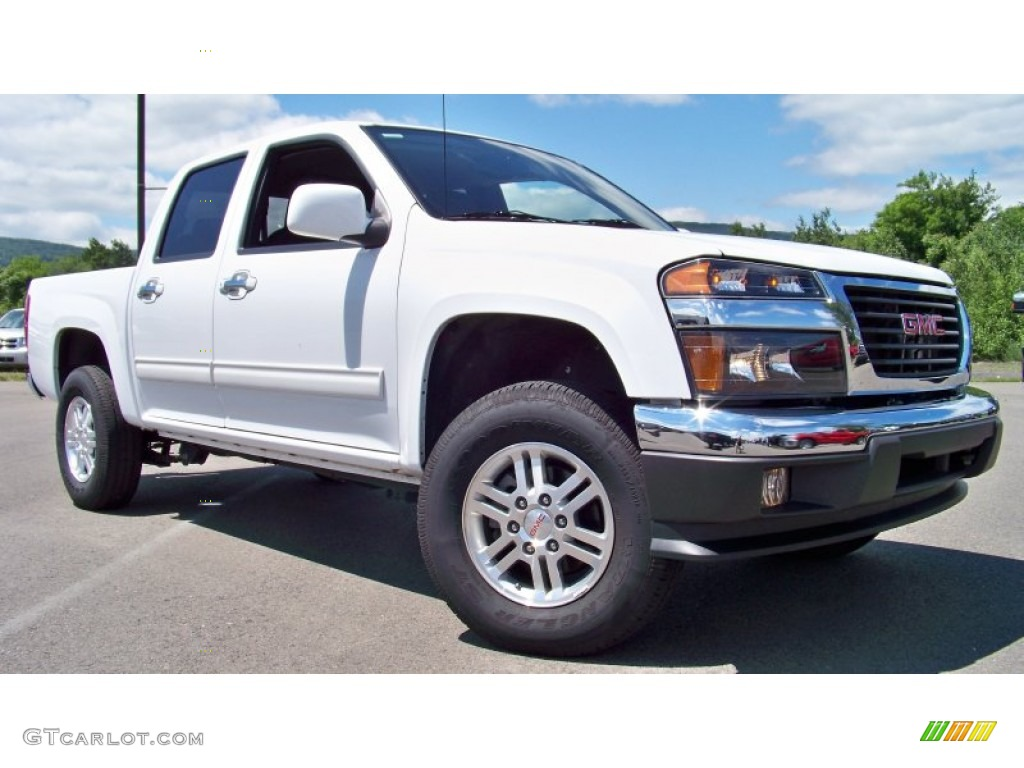 summit white 2012 gmc canyon sle crew cab 4x4 exterior photo 66576841. Black Bedroom Furniture Sets. Home Design Ideas