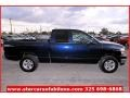 2006 Patriot Blue Pearl Dodge Ram 1500 SLT Quad Cab 4x4  photo #7