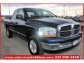 2006 Patriot Blue Pearl Dodge Ram 1500 SLT Quad Cab 4x4  photo #8