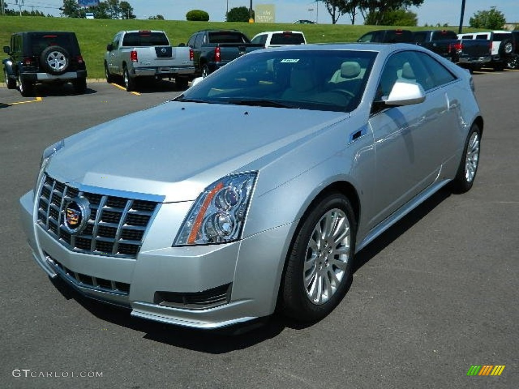 radiant silver metallic 2012 cadillac cts coupe exterior photo 66582353. Black Bedroom Furniture Sets. Home Design Ideas