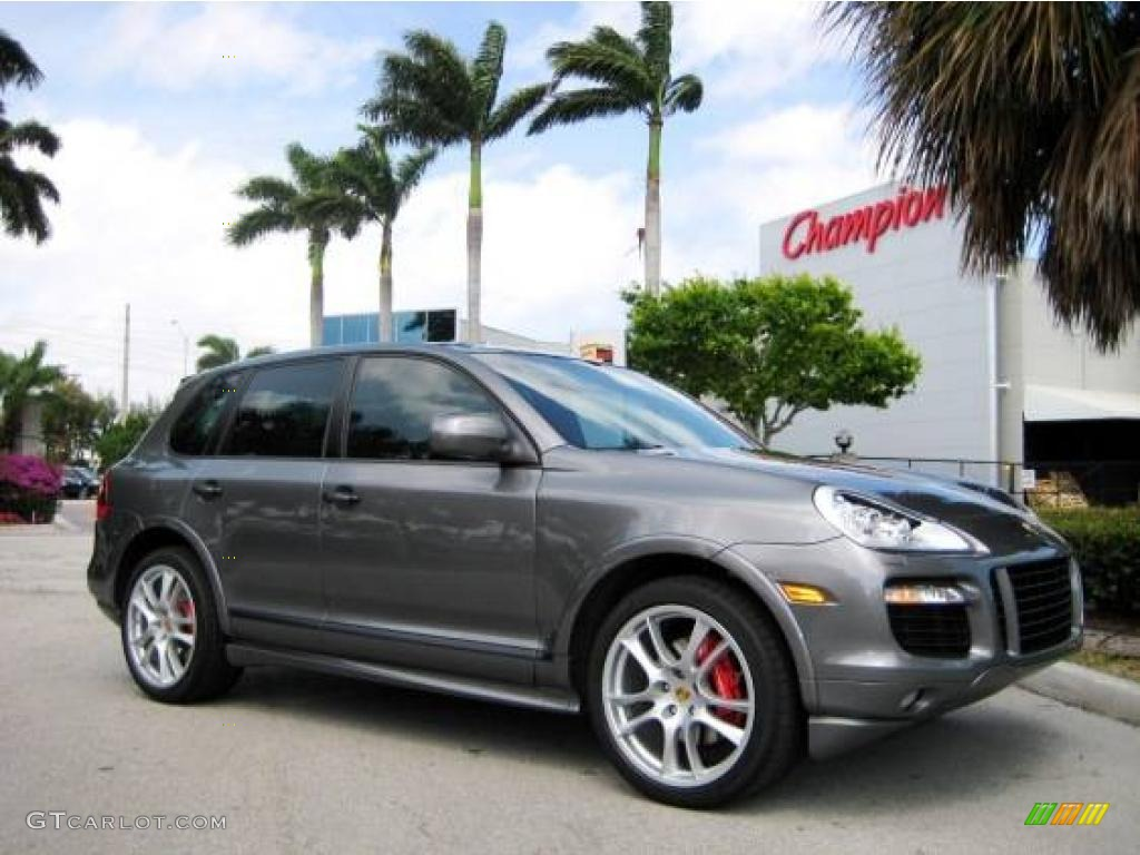2008 Cayenne Gts Meteor Grey Metallic Black Photo 1