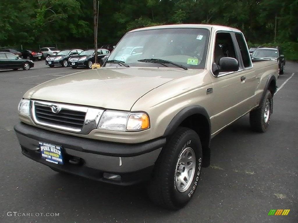1999 B Series Truck B4000 Se Extended Cab 4x4 Harvest Gold Metallic Tan