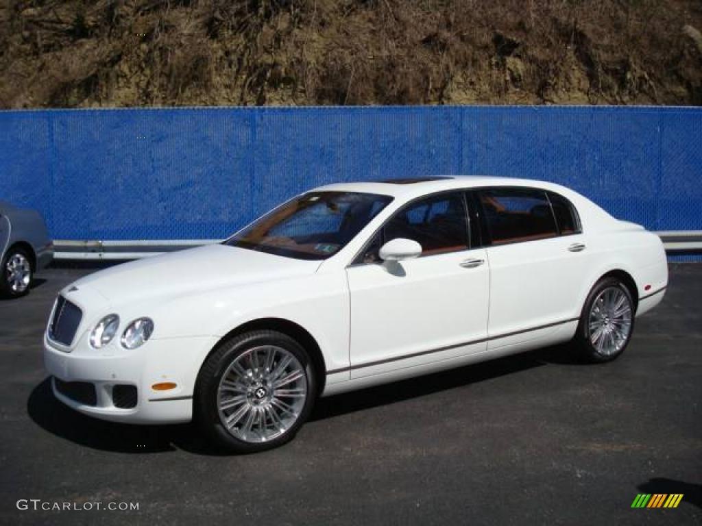 2009 glacier white bentley continental flying spur speed 6644821 car color. Black Bedroom Furniture Sets. Home Design Ideas