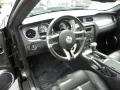 2010 Ford Mustang Charcoal Black/Cashmere Interior Interior Photo