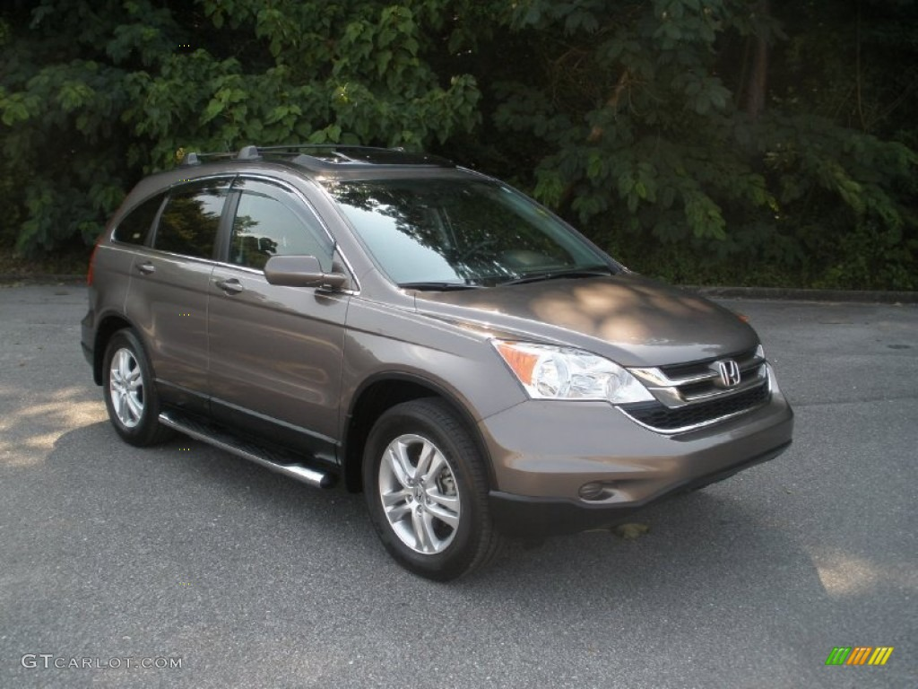 2011 CR-V EX-L - Urban Titanium Metallic / Black photo #1