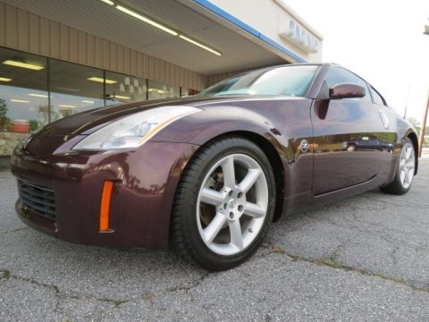 2003 nissan 350z enthusiast coupe data info and specs. Black Bedroom Furniture Sets. Home Design Ideas