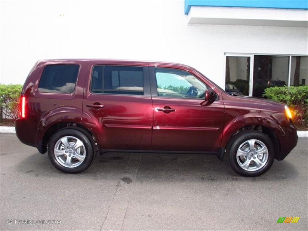 Dark cherry pearl ii 2012 honda pilot ex exterior photo - 2012 honda pilot exterior colors ...
