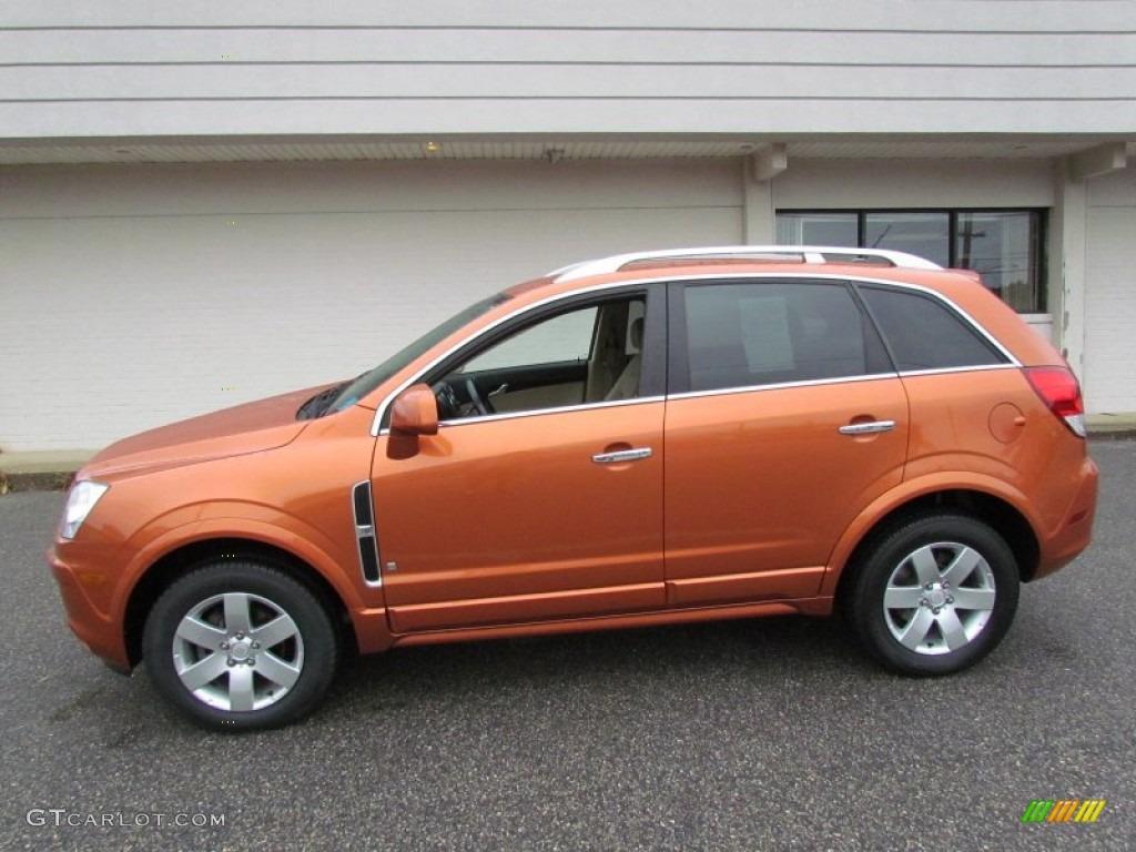 Sunburst Orange 2008 Saturn Vue Xr Exterior Photo