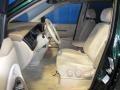 2001 MPV LX Beige Interior