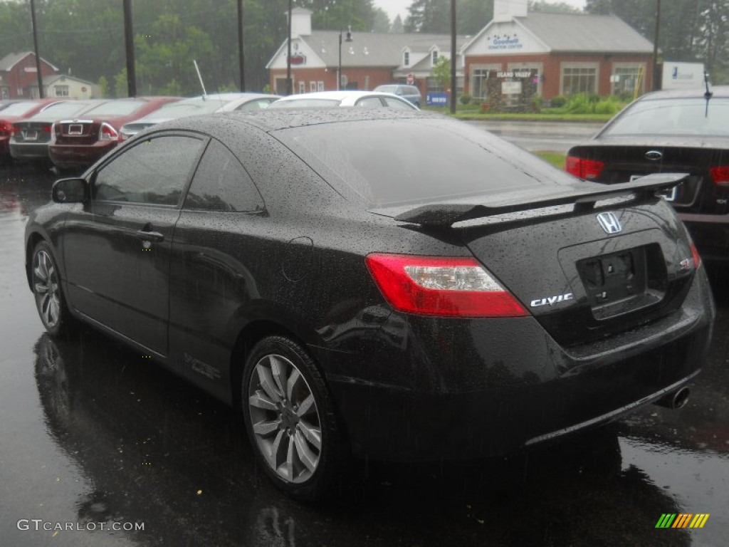 crystal black pearl 2009 honda civic si coupe exterior photo 66596791. Black Bedroom Furniture Sets. Home Design Ideas