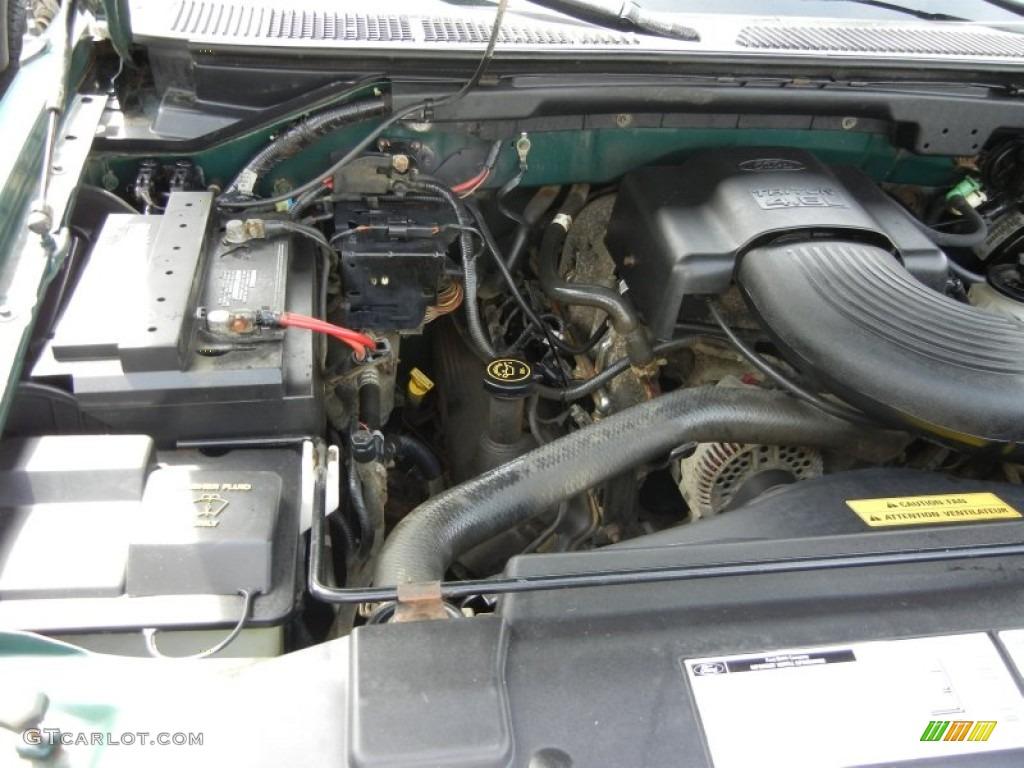 2000 ford f150 xl extended cab 4x4 4 6 liter sohc 16 valve for Motor ford f150 v8